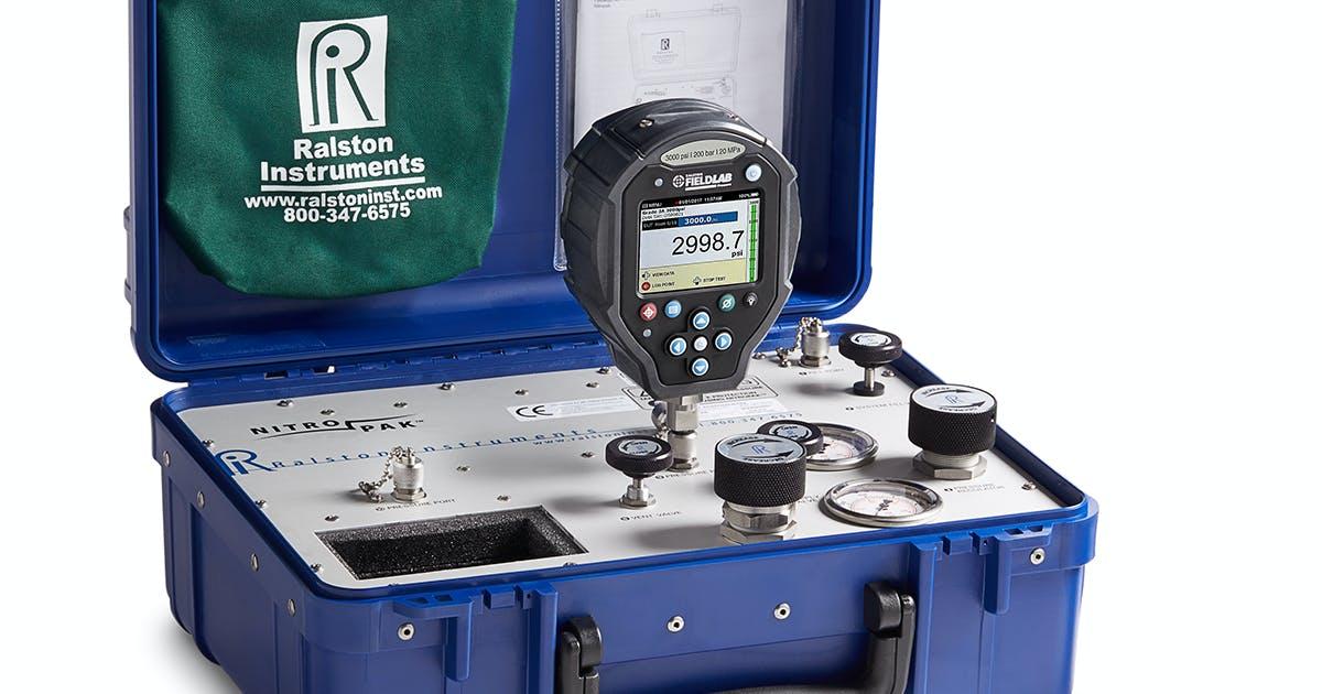 NPAK-3KPSIG-FL Calibration kit, NPAK Nitrogen source, 3000 psi / 200…