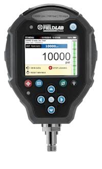 FieldLab Pressure 10000 Psi 700 Bar 70 MPa Male Quick Test XT Bottom Connection
